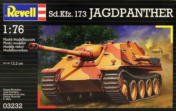 Sd.Kfz. 173 Jagdpanther com diorama - 1/76 - Revell 03232  - BLIMPS COMÉRCIO ELETRÔNICO