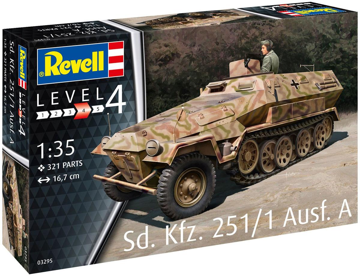 Sd. Kfz. 251/1 Ausf. A - 1-35 - Revell 03295  - BLIMPS COMÉRCIO ELETRÔNICO