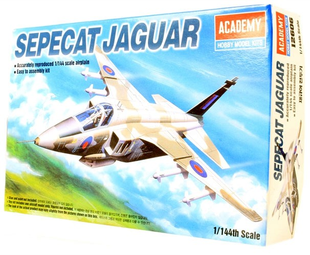 Sepecat Jaguar - 1/144 - Academy 12606  - BLIMPS COMÉRCIO ELETRÔNICO