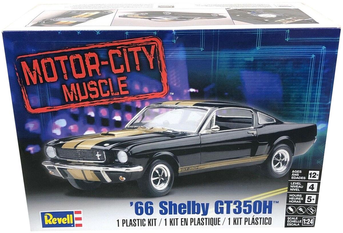Shelby Mustang GT350H 1966 - 1/24 - Revell 85-2482  - BLIMPS COMÉRCIO ELETRÔNICO