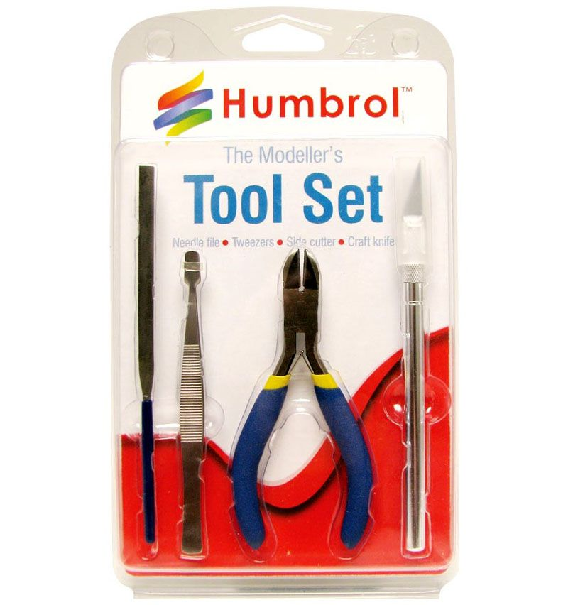 Small Tool Set - Kit de Ferramentas - Humbrol AG9150  - BLIMPS COMÉRCIO ELETRÔNICO