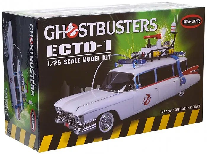 Snap Ghostbusters Ecto-1 - 1/25 - Polar Lights POL914  - BLIMPS COMÉRCIO ELETRÔNICO