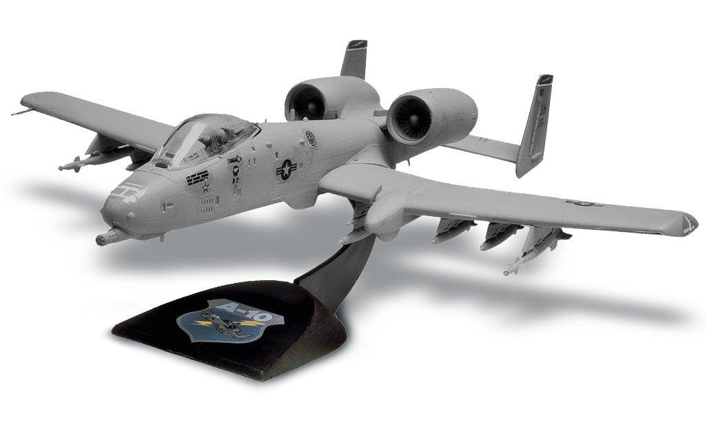 SnapTite A-10 Warthog - 1/72 - Revell 85-1181  - BLIMPS COMÉRCIO ELETRÔNICO