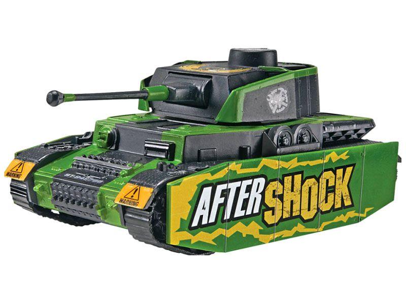 SnapTite Aftershock Panzer Tank - 1/48 - Revell 85-1759  - BLIMPS COMÉRCIO ELETRÔNICO