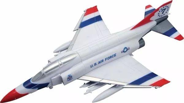 SnapTite F-4 Phantom Thunderbird - 1/100 - Revell 85-1366  - BLIMPS COMÉRCIO ELETRÔNICO