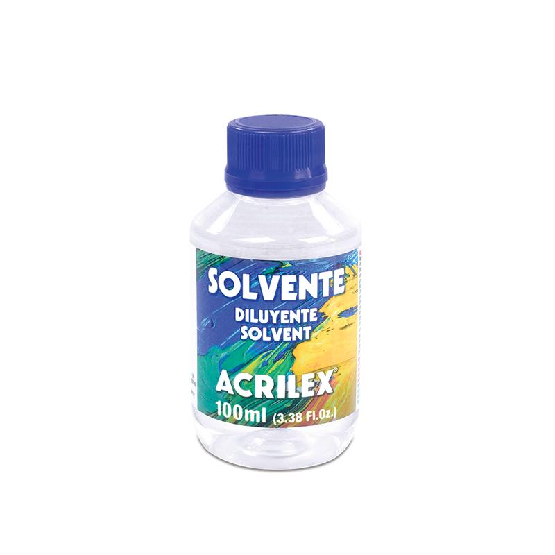 Solvente (100 ml) - Acrilex 15710  - BLIMPS COMÉRCIO ELETRÔNICO
