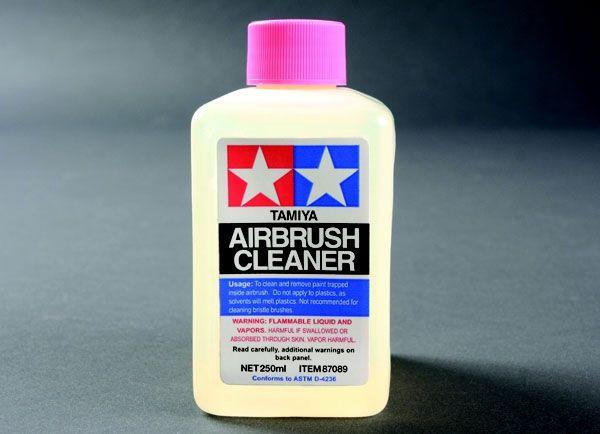 Airbrush Cleaner (removedor de sujeiras de aerógrafo) - 250 ml - Tamiya 87089  - BLIMPS COMÉRCIO ELETRÔNICO