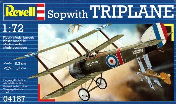 Sopwith Triplane - 1/72 - Revell 04187  - BLIMPS COMÉRCIO ELETRÔNICO
