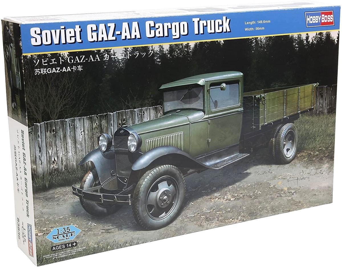 Soviet GAZ-AA Cargo Truck - 1/35 - HobbyBoss 83836  - BLIMPS COMÉRCIO ELETRÔNICO