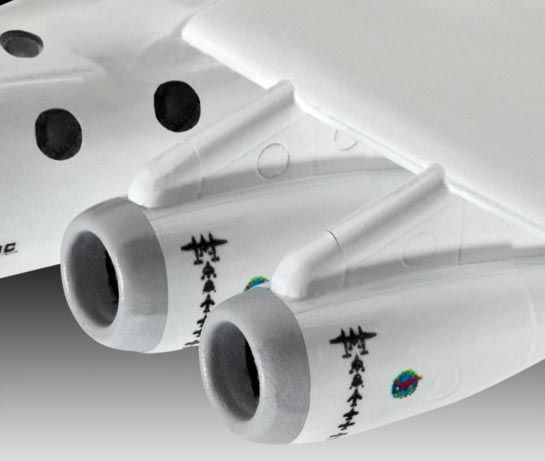 SpaceShipTwo & WhiteKnightTwo - 1/144 - Revell 04842  - BLIMPS COMÉRCIO ELETRÔNICO