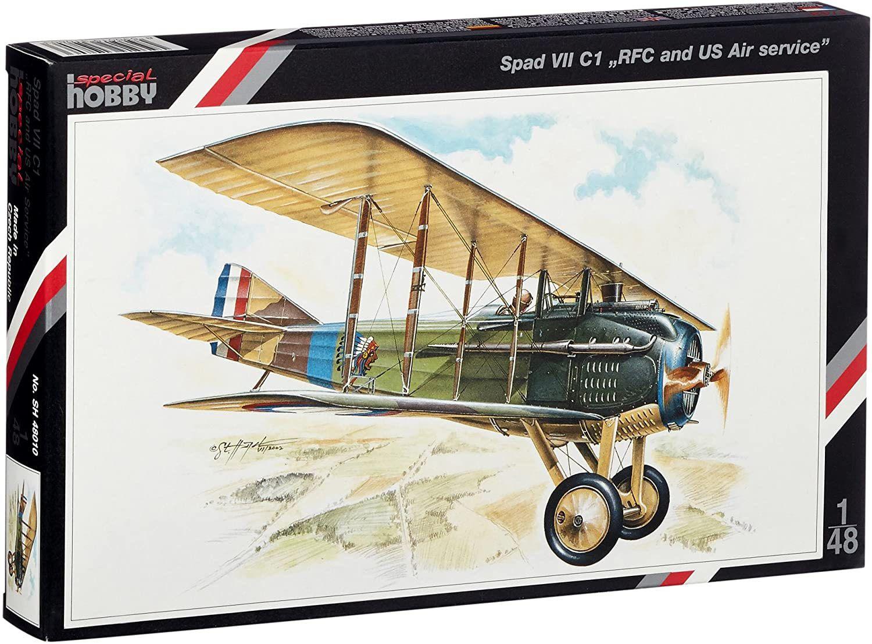 SPAD VII C1 RFC and US Air service - 1/48 - Special Hobby 48010  - BLIMPS COMÉRCIO ELETRÔNICO