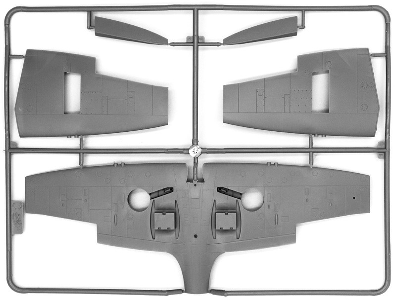 """Spitfire Mk.IXC """"Beer Delivery"""" - 1/48 - ICM 48060  - BLIMPS COMÉRCIO ELETRÔNICO"""