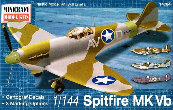 Spitfire Mk Vb - 1/144 - Minicraft 14704  - BLIMPS COMÉRCIO ELETRÔNICO