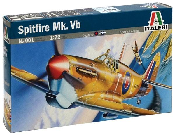 Spitfire Mk.Vb - 1/72 - Italeri 001  - BLIMPS COMÉRCIO ELETRÔNICO
