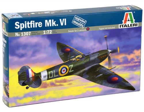 Spitfire Mk.VI - 1/72 - Italeri 1307  - BLIMPS COMÉRCIO ELETRÔNICO
