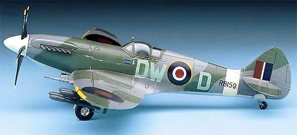 Spitfire MK.XIVc - 1/72 - Academy 12484  - BLIMPS COMÉRCIO ELETRÔNICO