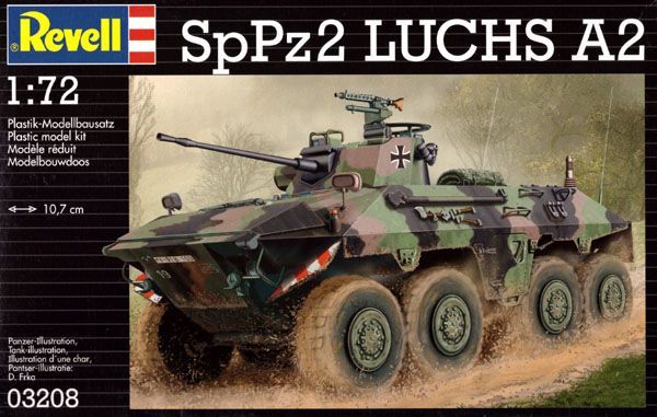 SpPz 2 LUCHS A2 - 1/72 - Revell 03208  - BLIMPS COMÉRCIO ELETRÔNICO