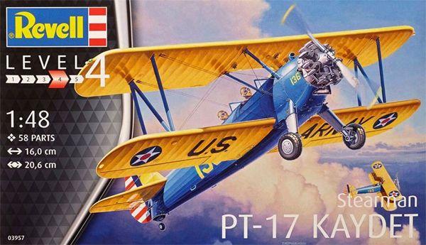 Stearman PT-17 Kaydet - 1/48 - Revell 03957  - BLIMPS COMÉRCIO ELETRÔNICO