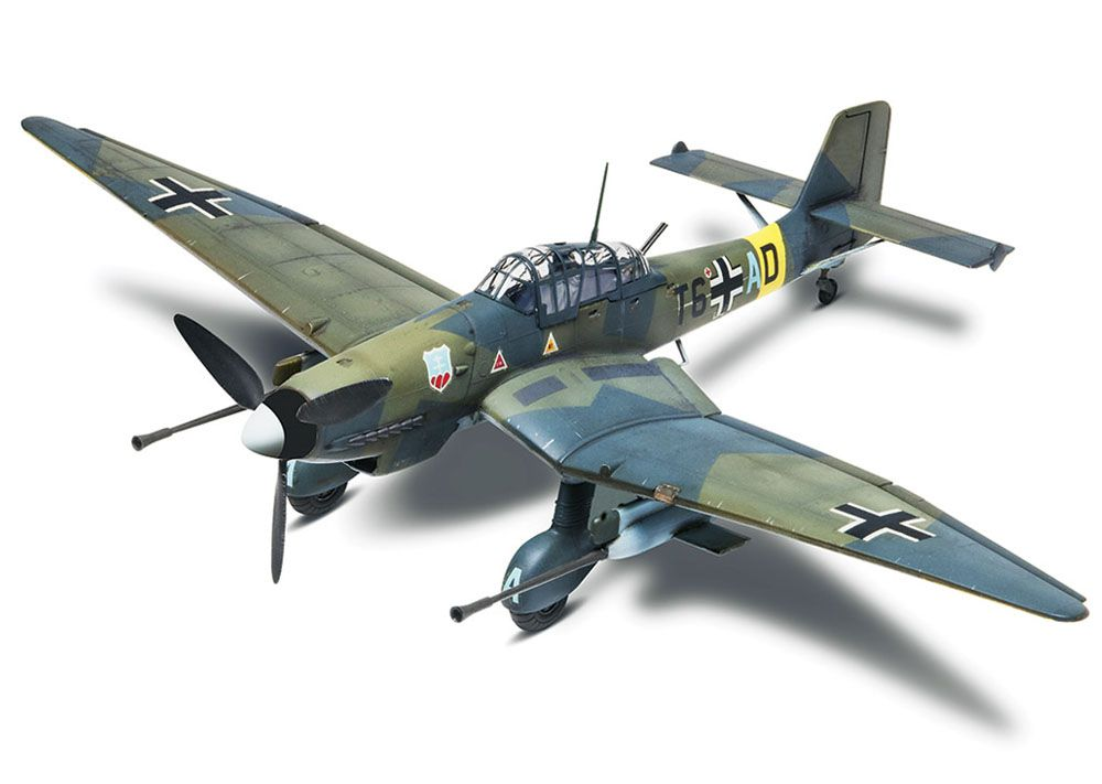 Stuka Ju 87G-1 Tank Buster - 1/48 - Revell 85-5270  - BLIMPS COMÉRCIO ELETRÔNICO