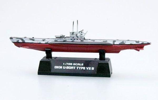 Submarino alemão DKM Type VII B - 1/700 - Easy Model 37312  - BLIMPS COMÉRCIO ELETRÔNICO