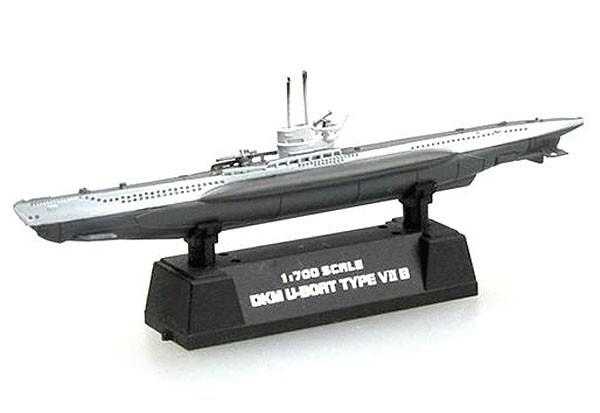 Submarino alemão DKM Type VII B - 1/700 - Easy Model 37313  - BLIMPS COMÉRCIO ELETRÔNICO