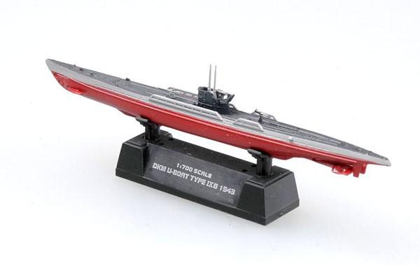 Submarino alemão DKM U-Boat Type IX - 1/700 - Easy Model 37318  - BLIMPS COMÉRCIO ELETRÔNICO