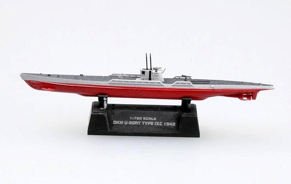 Submarino alemão DKM U-Boat Type IXC - 1/700 - Easy Model 37320  - BLIMPS COMÉRCIO ELETRÔNICO