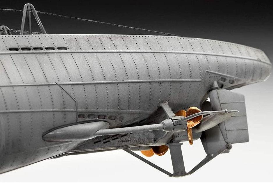 Submarino alemão Type VII C/41 - 1/144 - 05100  - BLIMPS COMÉRCIO ELETRÔNICO