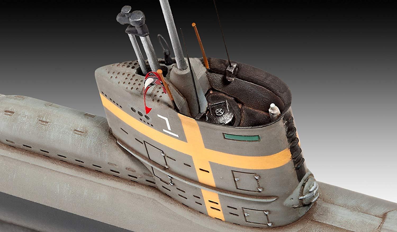 Submarino alemão Type XXIII - 1/144 - Revell 05140  - BLIMPS COMÉRCIO ELETRÔNICO