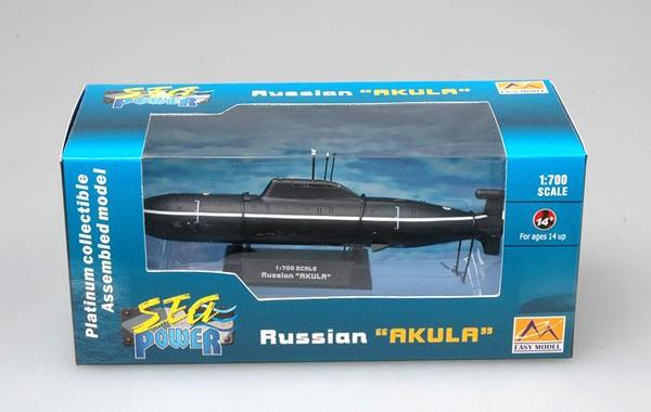 Submarino russo Akula - 1/700 - Easy Model 37304  - BLIMPS COMÉRCIO ELETRÔNICO