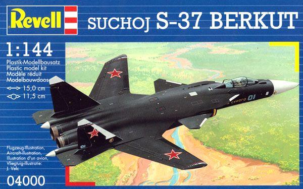 Suchoj S-37 Berkut - 1/144 - Revell 04000  - BLIMPS COMÉRCIO ELETRÔNICO