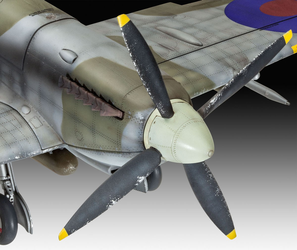 Supermarine Spitfire Mk.IXc - 1/32 - Revell 03927  - BLIMPS COMÉRCIO ELETRÔNICO