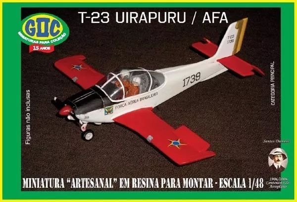 T-23 Uirapuru AFA - 1/48 - GIIC  - BLIMPS COMÉRCIO ELETRÔNICO