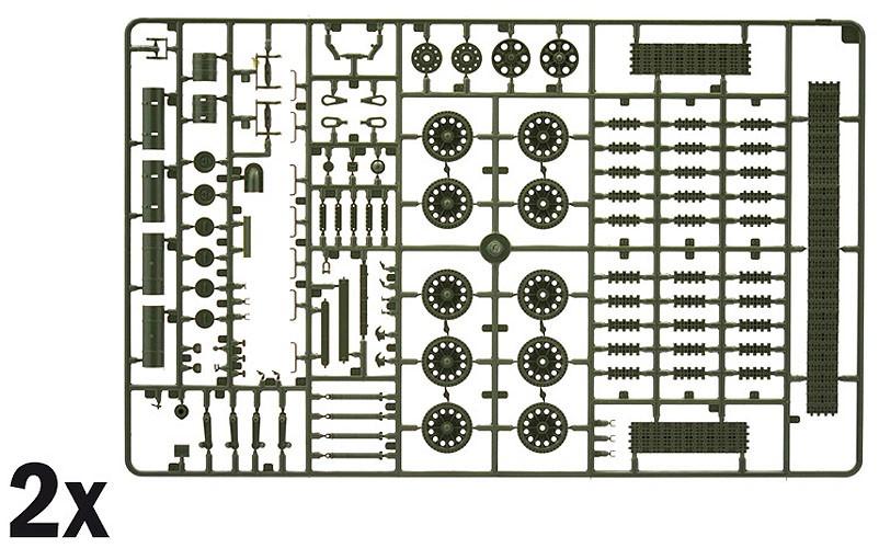 T-34/85 - World of Tanks - 1/35 - Italeri 37509  - BLIMPS COMÉRCIO ELETRÔNICO