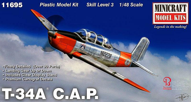 T-34 C.A.P. - 1/48 - Minicraft 11695  - BLIMPS COMÉRCIO ELETRÔNICO
