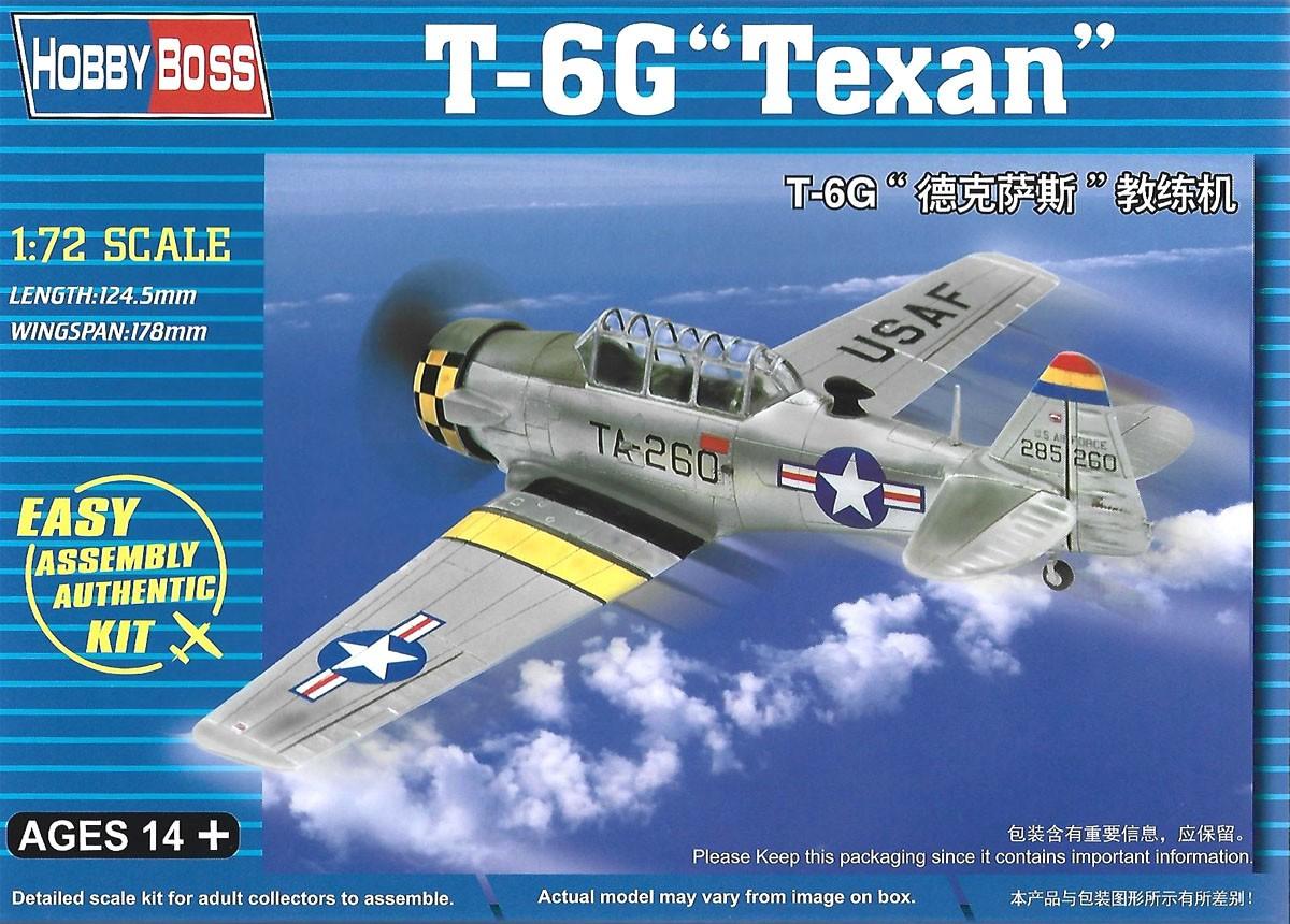 T-6G Texan - 1/72 - HobbyBoss 80233  - BLIMPS COMÉRCIO ELETRÔNICO