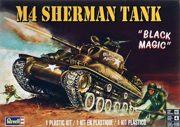 Tanque M4 Sherman - 1/35 - Revell 85-7864  - BLIMPS COMÉRCIO ELETRÔNICO