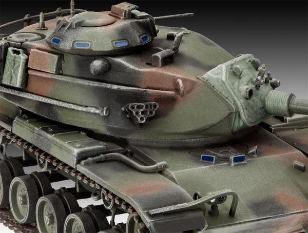Tanque M60 A3 - 1/72 - Revell 03140  - BLIMPS COMÉRCIO ELETRÔNICO