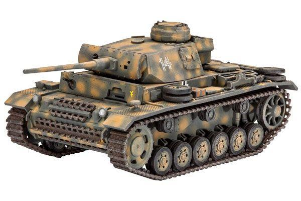 Tanque Panzer PzKpfw III Ausf. L - 1/72 - Revell 03251  - BLIMPS COMÉRCIO ELETRÔNICO