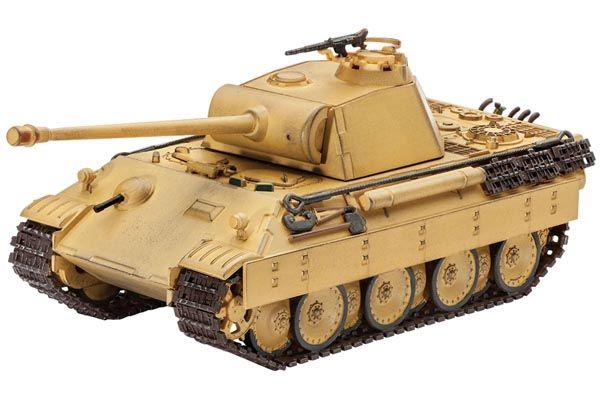 Tanque Panzer V Panther - 1/72 - Revell 03107  - BLIMPS COMÉRCIO ELETRÔNICO