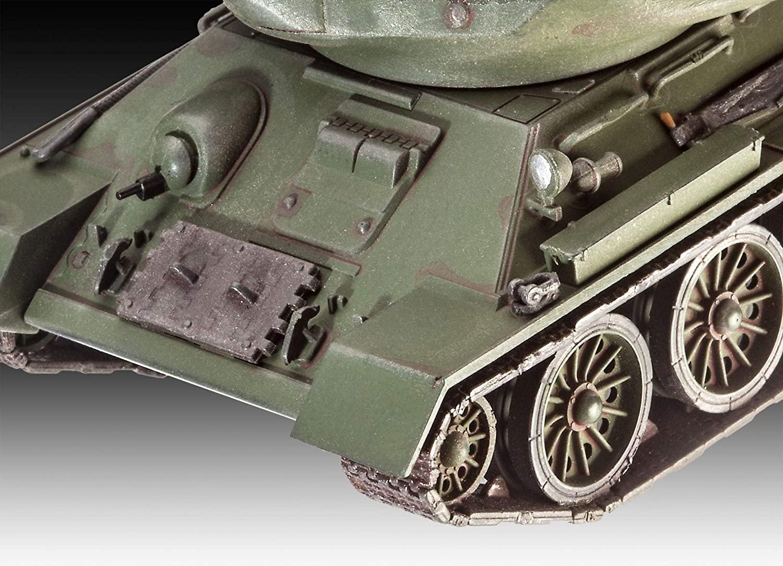 Tanque soviético T-34/85 - 1/72 - Revell 03302  - BLIMPS COMÉRCIO ELETRÔNICO