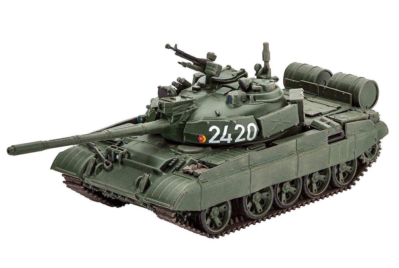Tanque T-55AM/T-55AM2B - URSS/RDA - 1/72 - Revell 03306  - BLIMPS COMÉRCIO ELETRÔNICO
