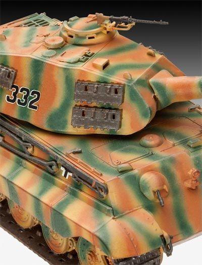 Tanque Tiger II Ausf. B (Porsche Prototype Turret) - 1/72 - Revell 03138  - BLIMPS COMÉRCIO ELETRÔNICO