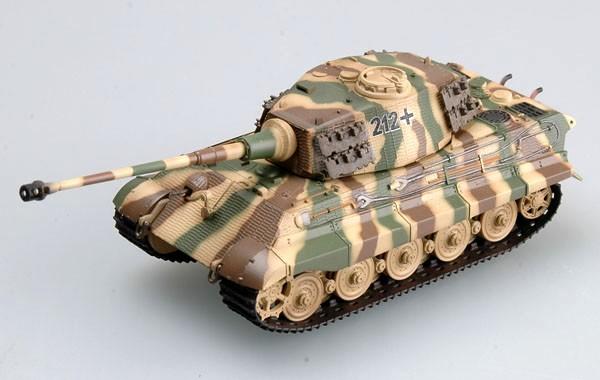 Tiger II (Henschel turret) - 1/72 - Easy Model 36295  - BLIMPS COMÉRCIO ELETRÔNICO