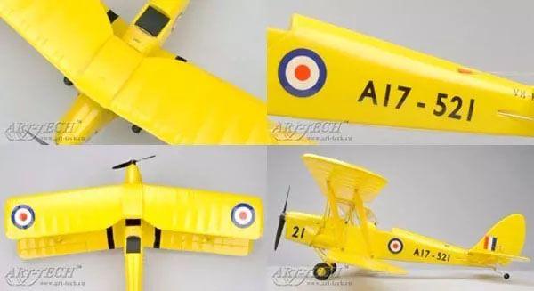 Tiger Moth RTF Elétrico - Art-Tech 21441  - BLIMPS COMÉRCIO ELETRÔNICO