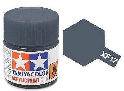 Tinta Acrílica Mini XF-17 Azul Mar (10 ml) - Tamiya 81717  - BLIMPS COMÉRCIO ELETRÔNICO