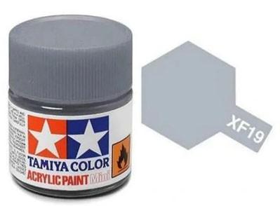 Tinta Acrílica Mini XF-19 Cinza Celeste (10 ml) - Tamiya 81719  - BLIMPS COMÉRCIO ELETRÔNICO