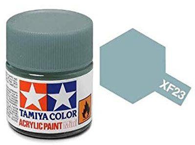 Tinta Acrílica Mini XF-23 Azul Claro (10 ml) - Tamiya 81723  - BLIMPS COMÉRCIO ELETRÔNICO
