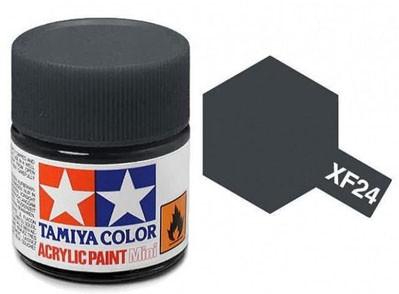 Tinta Acrílica Mini XF-24 Cinza Escuro (10 ml) - Tamiya 81724  - BLIMPS COMÉRCIO ELETRÔNICO