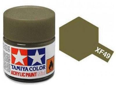 Tinta Acrílica Mini XF-49 Caqui (10 ml) - Tamiya 81749  - BLIMPS COMÉRCIO ELETRÔNICO